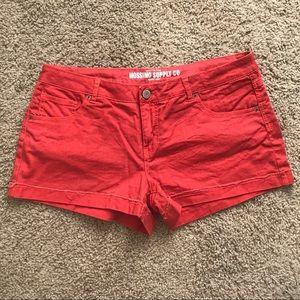 Mossimo Jean shorts EUC - size 17